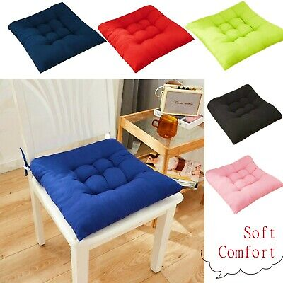 AU12.89 • Buy Chair Cushion Round Cotton Upholstery Soft Padded Cushion Pad Office Home Or Car