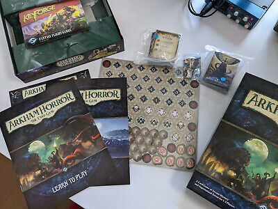 £49 • Buy Arkham Horror Card Game - 2x Core Sets, Dunwich Legacy, 2 Mythos Packs And Extra