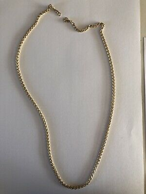 £414 • Buy 9ct Gold Solid Rope Chain. 24 Inch.