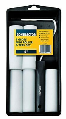 £6.25 • Buy Harris T-Class Contractor Gloss 5 Mini(4 ) Roller Tray Set 89416 Free Shipping !