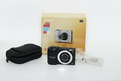 £39.99 • Buy Canon Powershot A810 16.0mp 5x Zoom BOXED (473064039188)