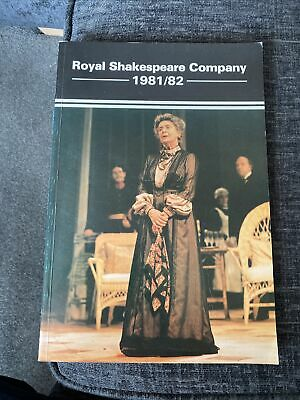 £7.99 • Buy RSC - Royal Shakespeare Company Yearbook 1981/82