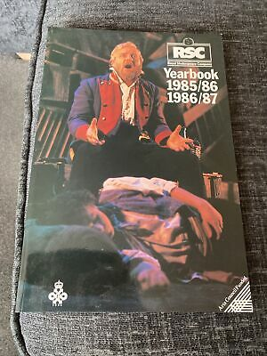 £7.99 • Buy RSC - Royal Shakespeare Company Yearbook 1985/86 & 1986/87