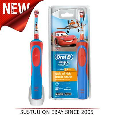 AU45.18 • Buy Oral-B Stages Power Kids Electric Rechargeable Toothbrush│Disney Pixar Cars Star