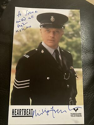£9.99 • Buy Philip Franks Signed Photo And Signed Letter