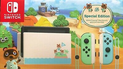 AU519 • Buy [Au Stock] Nintendo Switch Animal Crossing: New Horizons Special Edition Console