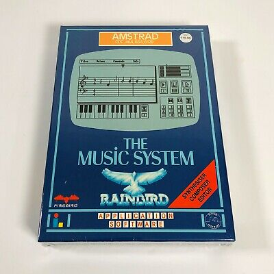 £99.99 • Buy The MUSIC SYSTEM - Amstrad CPC 464/664/6128 DISK Version - FACTORY SEALED