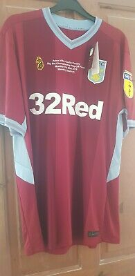 £225 • Buy Aston Villa Luke Play Off Final Shirt Large Brand New With Tags Limited Edition
