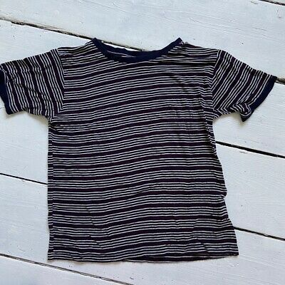 AU7.36 • Buy Pull And Bear Navy Striped Crop Top