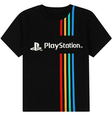 £8.99 • Buy Official Sony Playstation T Shirt Play Station Gaming Birthday Gift Kids Top