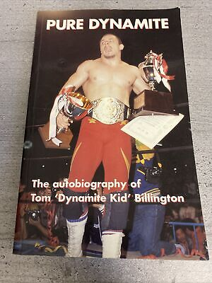 £99.99 • Buy Pure Dynamite Autobiography Tom Billington First Edition Rare Signed Wrestling