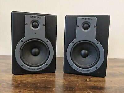 $81 • Buy 2x M-Audio BX5a Studiophile Speakers - Power Supply NOT Included