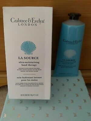 £15.99 • Buy Crabtree And Evelyn. La Source Hand Therapy Lotion 100g. New And Boxed.