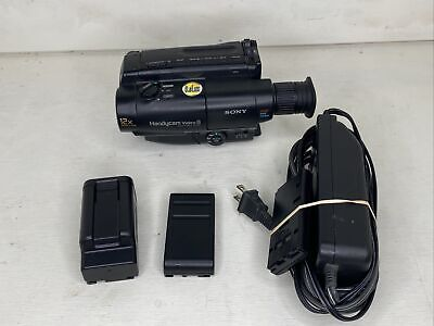 $ CDN148.61 • Buy Sony 8mm Video8 Camera Camcorder VCR Player Video Transfer CCD-TR64 TESTED