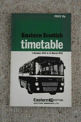 £5.45 • Buy 1978 - 1979 Eastern Scottish Omnibuses Ltd Timetable Book (with Map)