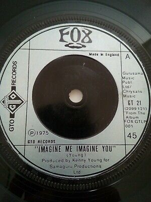 £0.99 • Buy Fox - Imagine Me Imagine You/If I Point At The Moon On GTO Label. Soul Original.