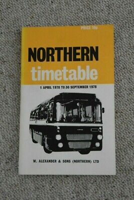 £7.45 • Buy 1978  Northern Scottish Bus Timetable Book With GRT Aberdeen Services - VGC