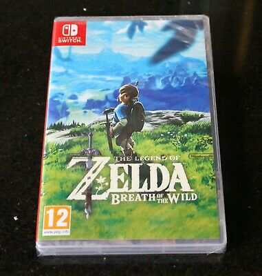AU90.38 • Buy The Legend Of Zelda Breath Of The Wild Nintendo Switch BRAND NEW FACTORY SEALED