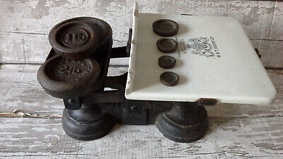 £95 • Buy W And T Avery Ltd Vintage Weighing Scales And Weights -rare
