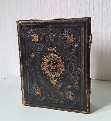 £125 • Buy Antique Late Victorian 'brown's Self-interpreting Family Bible' & Illustrations