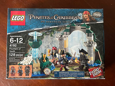 £46.02 • Buy Lego Pirates Of The Caribbean Fountain Of Youth 4192 New In Box/Sealed/Retired