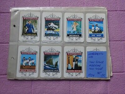 £2.99 • Buy Complete Set - Whitbread - Maritime Inn Signs ( 25 Cards )