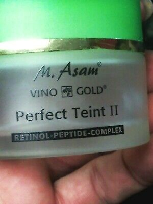 $27 • Buy M. Asam Perfect Teint Vino Gold- BUY 2 AND SAVE!!! - New, Box Very Damaged.