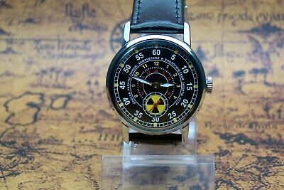 £42.54 • Buy Pobeda Soviet Troops Radiation Chemical Protection Ussr Russian Military Watch