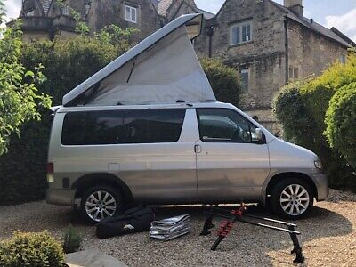 £5500 • Buy Mazda BONGO CAMPERVAN Conversion Silver/Grey With Awning And Accessories