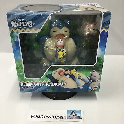 $175.55 • Buy G.E.M. Series Pokemon Snorlax And Goodnight About 210Mm Pvc-Painted Pvc Figure