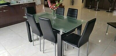 AU100 • Buy Dining Table With 6 Chairs Set