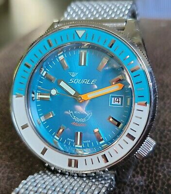 $ CDN1751.06 • Buy SQUALE MATIC 600 Meter Professional Swiss Automatic Dive Watch