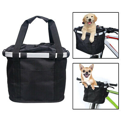 £15.21 • Buy Bike Front Basket Dog Carrier Bicycle Bag Comfortable Cycling Outdoor Picnic