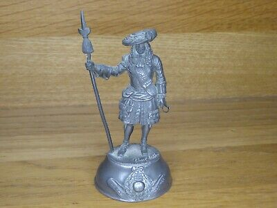 £16.99 • Buy Chas. C. Stadden Pewter Figure - C.17th C.Royal Marine Figure With Pike