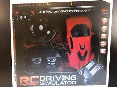£14.99 • Buy Radio Control Driving Simulator RC Real Pedal Experience 27 MHz 3+