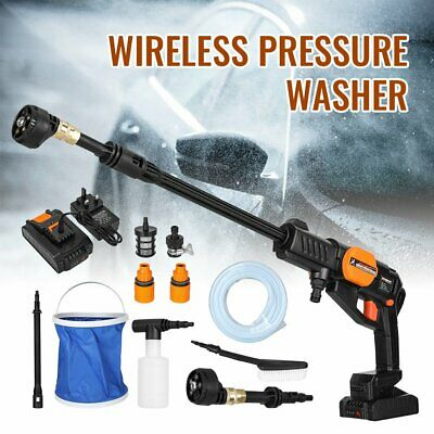£79.99 • Buy Portable Cordless Car High Pressure Power Jet Washer Water Wash Cleaner 580PSI