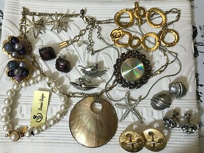 $ CDN41.02 • Buy Vintage Jewelry Lot Including Signed And Unsigned Lot R