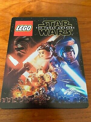AU25 • Buy Lego Star Wars The Force Awakens PS4 Playstation Game + Steelbook