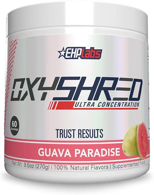 AU82.14 • Buy Ehplabs Oxyshred Ultra Concentration - Burn & Shred, Energy Booster, Pre-Workout