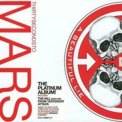 £5.65 • Buy 30 Seconds To Mars : A Beautiful Lie [New & Sealed] CD