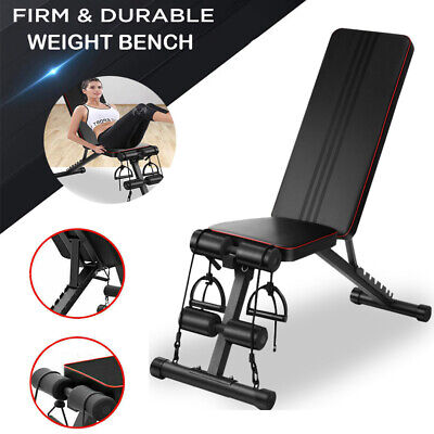 £45.99 • Buy Weight Bench Multi Adjustable Gym Workout Exercise Flat Incline Decline Sit Up