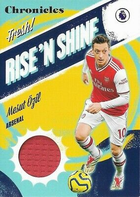 £9.99 • Buy 2019-20 CHRONICLES SOCCER Mesut Ozil Arsenal Rise 'N Shine Relic Patch Card