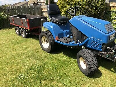 £1095 • Buy Iseki SG15 Tow Tug Compact Garden Tractor With Snow Plow Plough Diesel