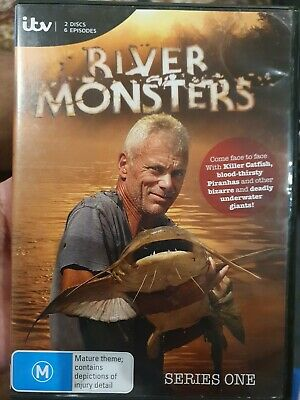 £17.79 • Buy River Monsters Series One 1 Dvd Jeremy Wade Fishing Angler Documentary Tv Show