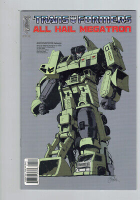 £18 • Buy Transformers All Hail Megatron (2008) #   4 Cover C (9.2-NM) Retailer Incentive
