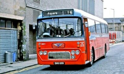 £1.20 • Buy Bus Photo: HIGHLAND OMNIBUSES AEC Reliance EWS121D  Inverness Ex-Eastern Scot
