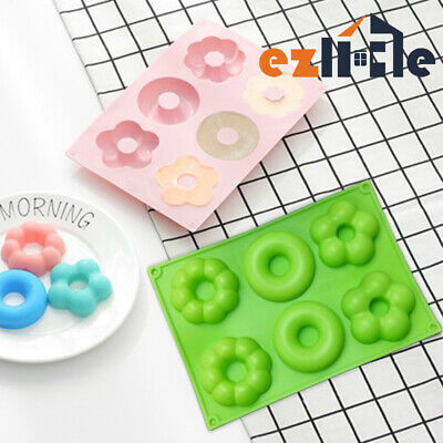 AU9.45 • Buy Silicone Mould Donut Baking Muffin Chocolate Tray Cake Doughnut Ice Cube Mold