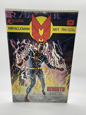 £5.68 • Buy Eclipse Comics MIRACLEMAN Rebirth By Alan Moore #1