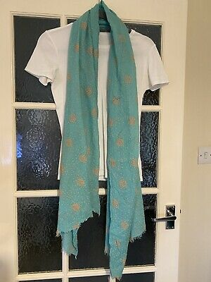 £2.30 • Buy Gorgeous Sea Green Gap Scarf / Stole / Wrap / Coverup