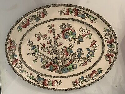 £7.99 • Buy Vintage Johnson Bros 'Indian Tree'  Very Large Oval Serving Plate